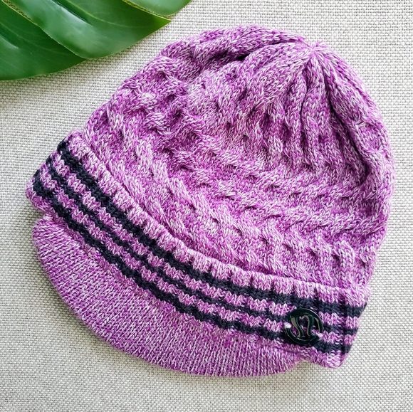 Lululemon Merino Wool Brimmed Beanie Hat